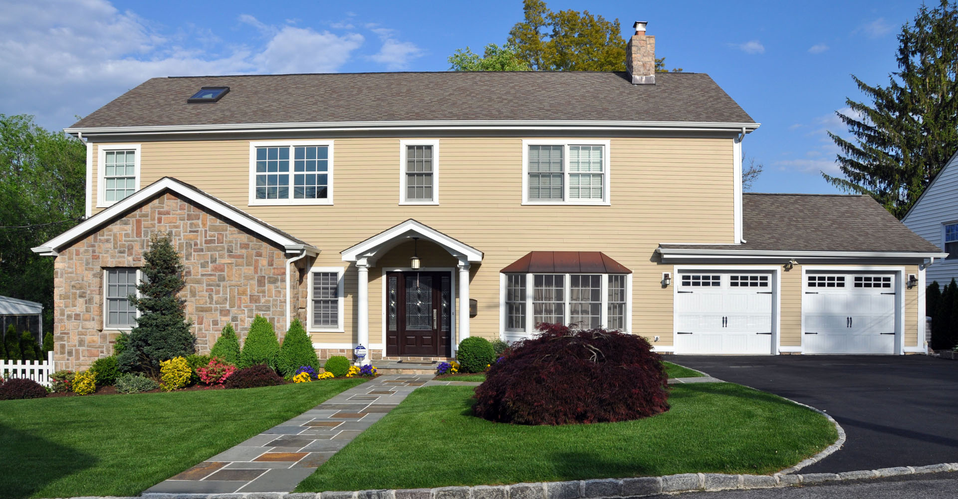 Front-elevation-colonial-yonkers-new-york-additon-1920